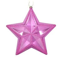 12 in. Shiny Bubblegum Pink Commercial Size Shatterproof Star