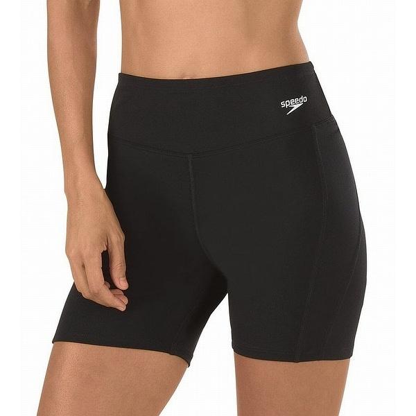 Speedo Black Endurance Jammer Women  x27 s Size 12 Swimsuit Boy Shorts 13981a76a