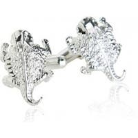 Horny Toad Desert Horned Toad Amphibian Cufflinks In Sterling Silver