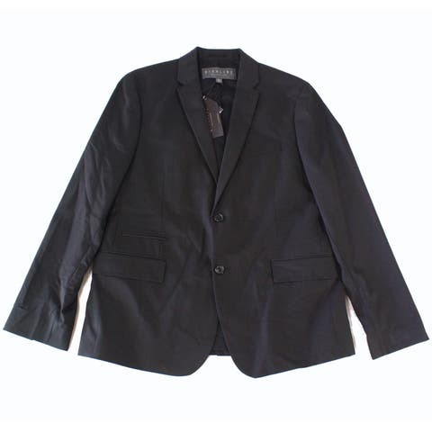 Highline Mens Large Two Button Notched Collar Blazer