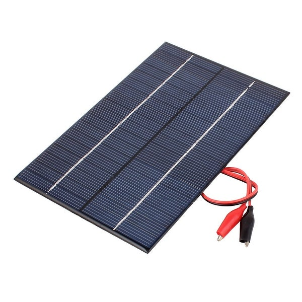 18V 4.2W DIY Polycrystalline Silicon Solar Panel Power Battery Charger 20x13cm