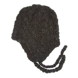 Broner Knit Macrame Soft Winter Hat (3 options available)