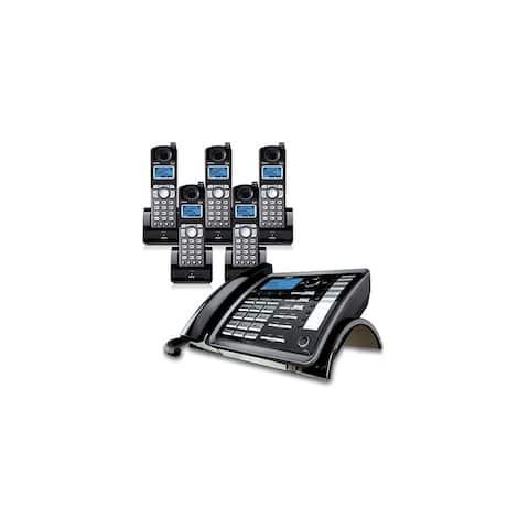 RCA ViSYS 25255RE2 + (4) 25055RE1 DECT 6.0 2-Line Corded/Cordless Phone