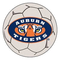 Auburn University Tigers Soccer Ball Rug