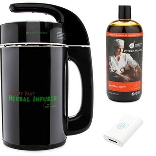 Mighty Fast Herbal Infuser with tCheck 2 White Tester, Liquid Soy Lecithin (1L)