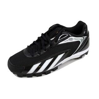 Adidas Men's HotStreak Low Black/White-Metallic Silver G47418 Size 9.5