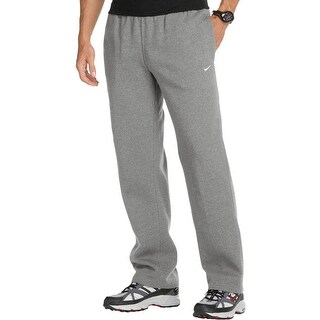 Nike Mens Lounge Pants Fleece Flat Front
