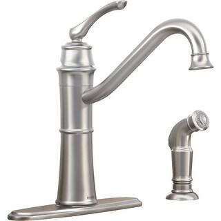 Moen 1H Srs Kt Faucet W/Spray