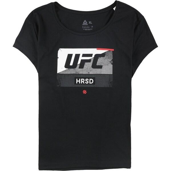 Reebok Womens Ufc Hrsd Graphic T-Shirt. Opens flyout.