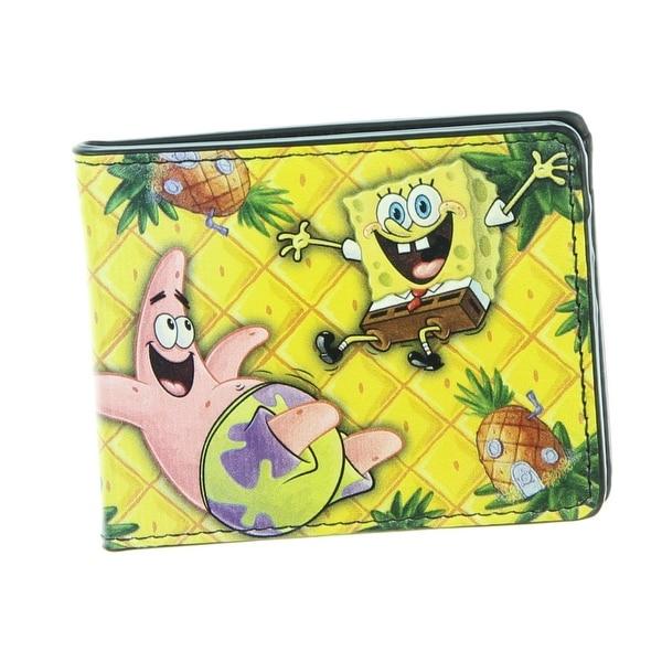 Shop Spongebob Squarepants Bi Fold Wallet Free Shipping