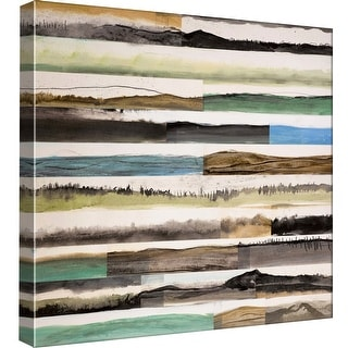 "PTM Images 9-97890  PTM Canvas Collection 12"" x 12"" - ""Neutral Plains #7"" Giclee Rural Art Print on Canvas"