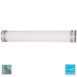"Minka Lavery ML 666-PL 2 Light 37"" Width Energy Star Bathroom Bath Bar - Silver"