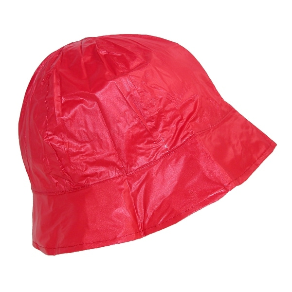 ShedRain Women's Waterproof Vinyl Packable Rain Hat