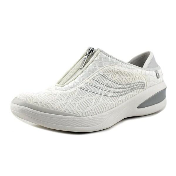 BZees Womens Fancy Fabric Low Top Zipper Fashion Sneakers
