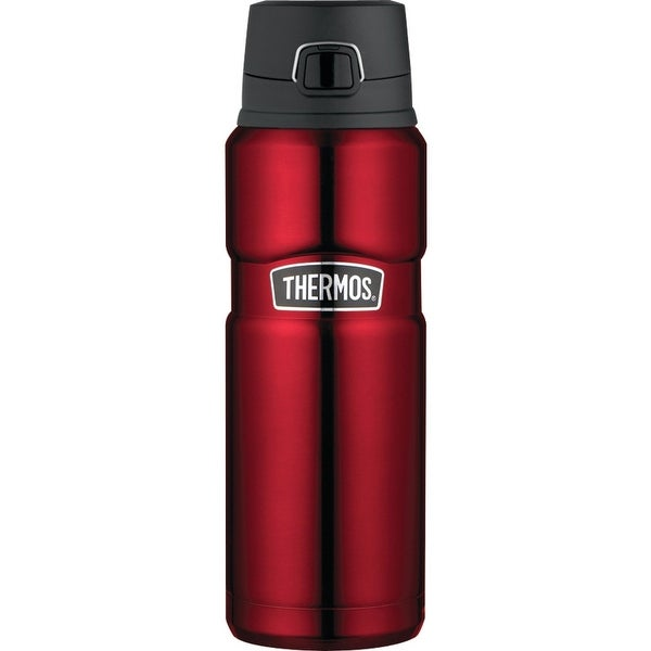 Thermos Stainless King 24 Ounce Drink Bottle (Cranberry)