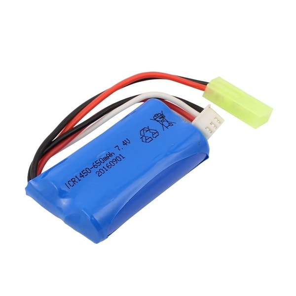 DC 7.4V 650mAh Recycle Charging Lithium Battery Pack for RC Boat