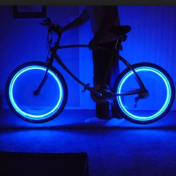 4-Pack Neon Led Tire Lights For Bikes, Cars Or Motorcycles - M. Opens flyout.
