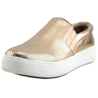Steve Madden Genette Women Synthetic Gold Fashion Sneakers