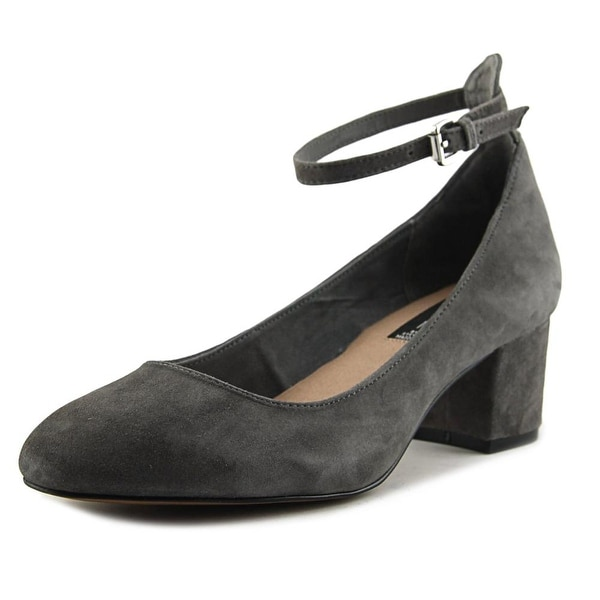 Steven Steve Madden Vassie Women Grey Pumps