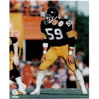 Signed Ham Jack Pittsburgh Steelers 8x10 autographed