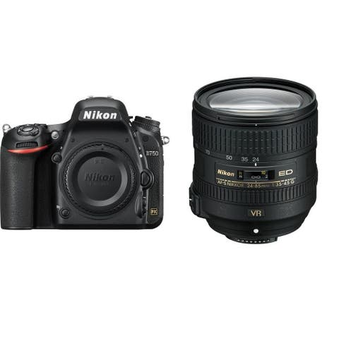 Nikon D750 with 24-85mm f/3.5-4.5G ED VR Lens