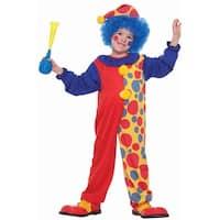 Forum Novelties Clown on the Town Toddler Costume - Multi