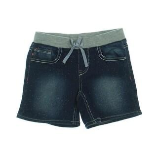Vigoss Girls Metallic Denim Shorts - 6