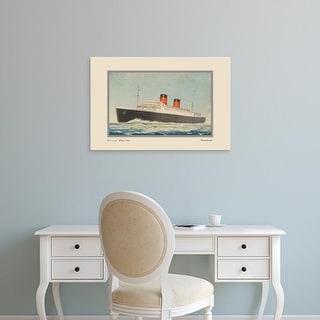Easy Art Prints Unknown's 'Vintage Cruise I' Premium Canvas Art
