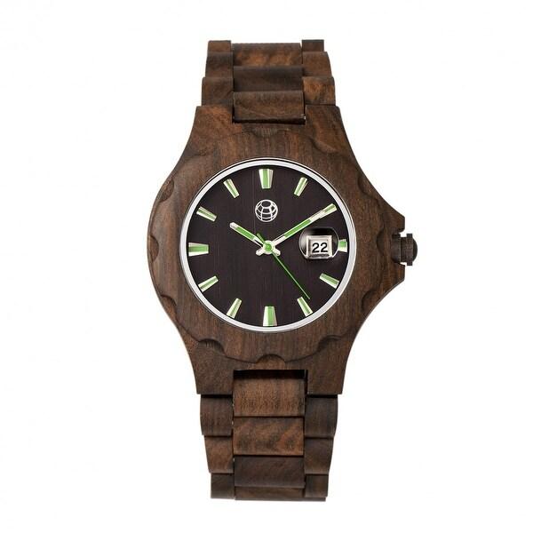 Shop Earth Wood Gila Unisex Quartz Watch, Wood Band - Free -7977