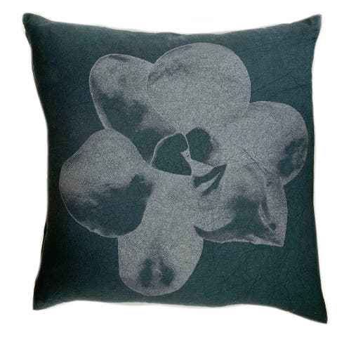 Jiti Taquicardia Rainforest Abstract Floral Lumbar Pillow - 24 x 24