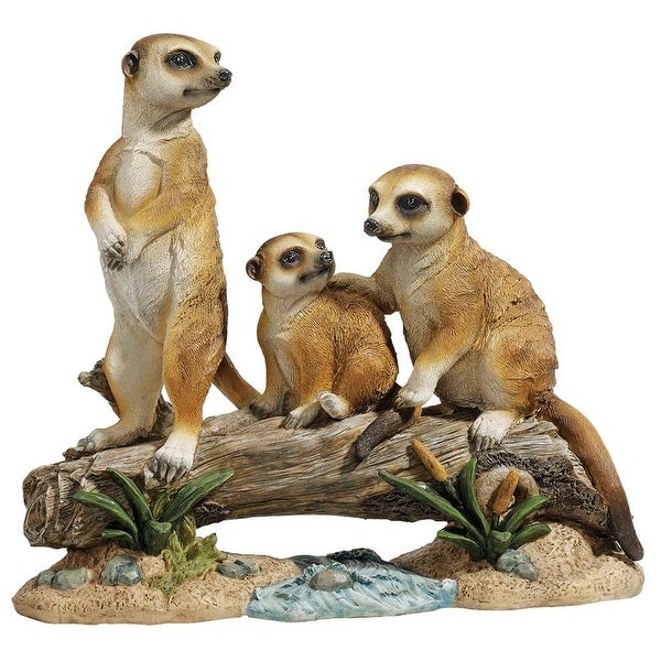 Design Toscano The Meerkat Clan Statue