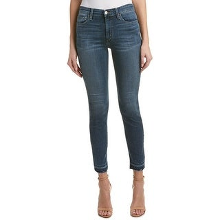 Joe's Jeans Charlie Raw Hem High Rise Skinny Ankle Jeans
