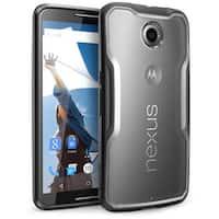 SUPCASE-Google Nexus 6 Case -Unicorn Beetle Series Hybrid Bumper Cas -Frost Black