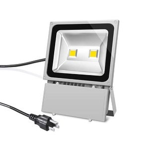 Led Flood Light Daylight White 6500k Outdoor Spotlight Ip65 Waterproof Security Lights With Us 3 Plug Ping The Best Deals On