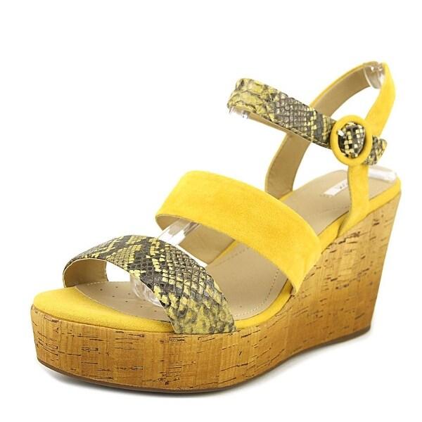 Geox Jaleah B Ochre Yellow Sandals