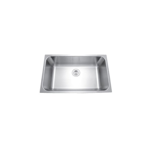 Shop Mirabelle Miruc309 30 Quot Single Basin Stainless Steel
