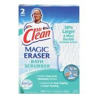 Mr. Clean 27141 Magic Eraser Bath Scrubber,  2-Count