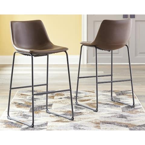 Centiar Upholstered Stool Set of 2