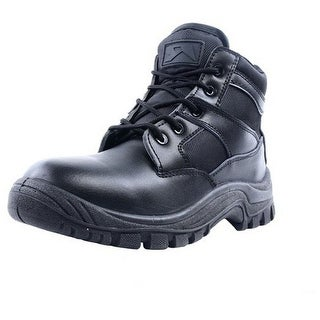 "Ridge Tactical Boots Men Nighthawk Mid 6"" Shaft Lace Up Black 2006"