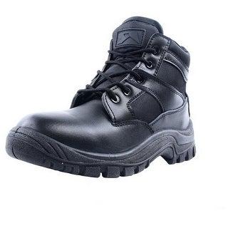 "Ridge Tactical Boots Men Nighthawk Mid 6"" Shaft Lace Up Black"
