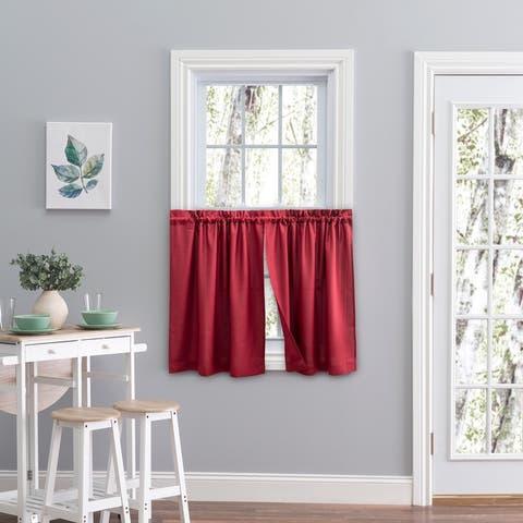 Glasgow Curtain Tier Set - 57 x 30
