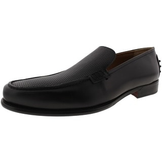 Kenneth Cole New York Mens Float On Air Loafers Leather Slip On - 10 medium (d)