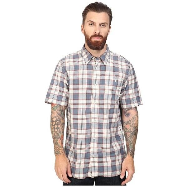 Vans Short Sleeve Mens Button-down Shirt