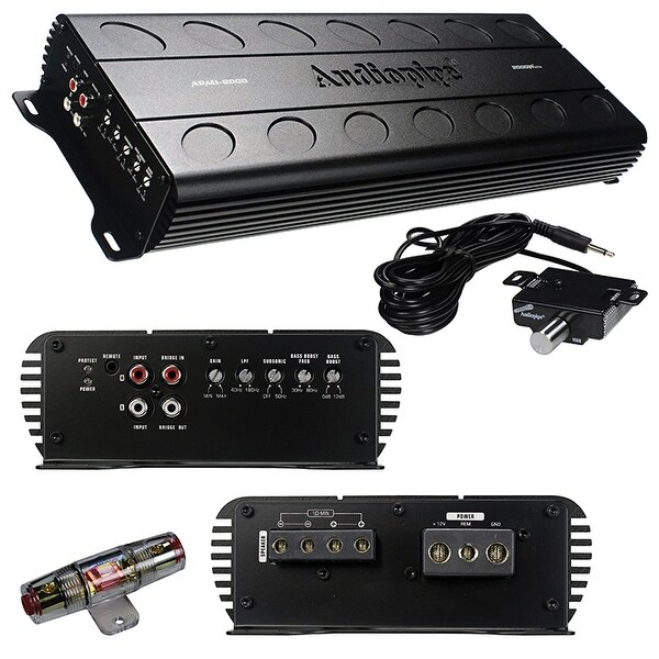 Audiopipe APMI-2000 Mini Design Class D 2000 Watt Amplifier
