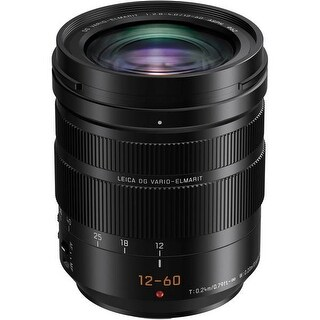Panasonic Leica DG Vario-Elmarit 12-60mm f/2.8-4 ASPH. POWER O.I.S. Lens - Black