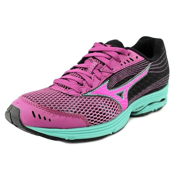 Mizuno Wave Sayonara 3 Women Round Toe Synthetic Multi Color Running Shoe