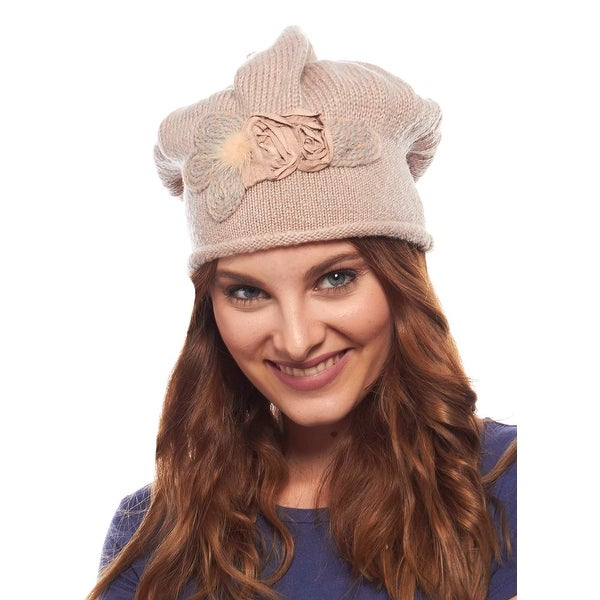 Lidiya Knit Winter Hat for Ladies