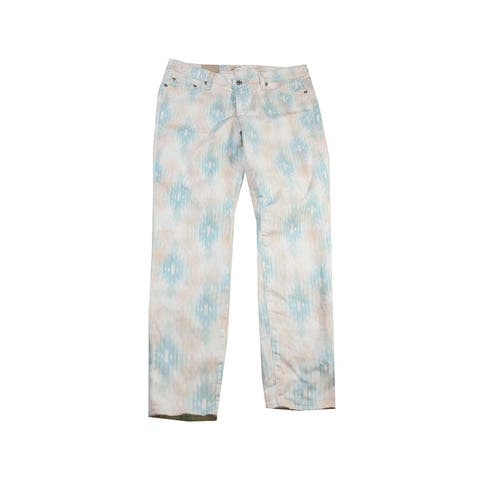 Big Star Multi Printed Alex Mid-Rise Skinny Jeans