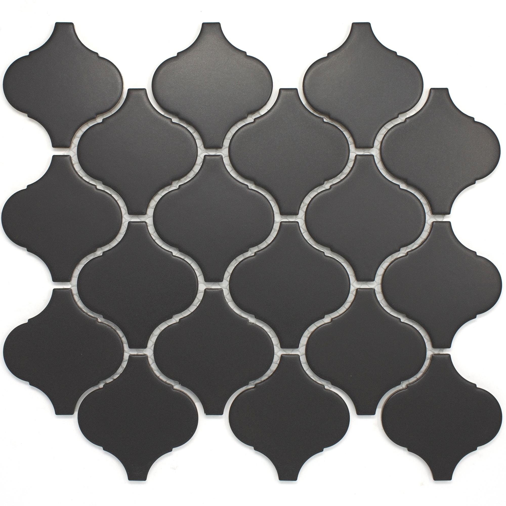 Lantern 3 X Porcelain Mosaic Tile