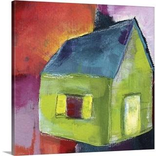 """Greenhouse"" Canvas Wall Art"